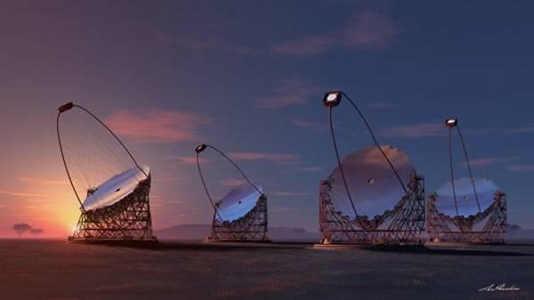 La red de telescopios Cherenkov