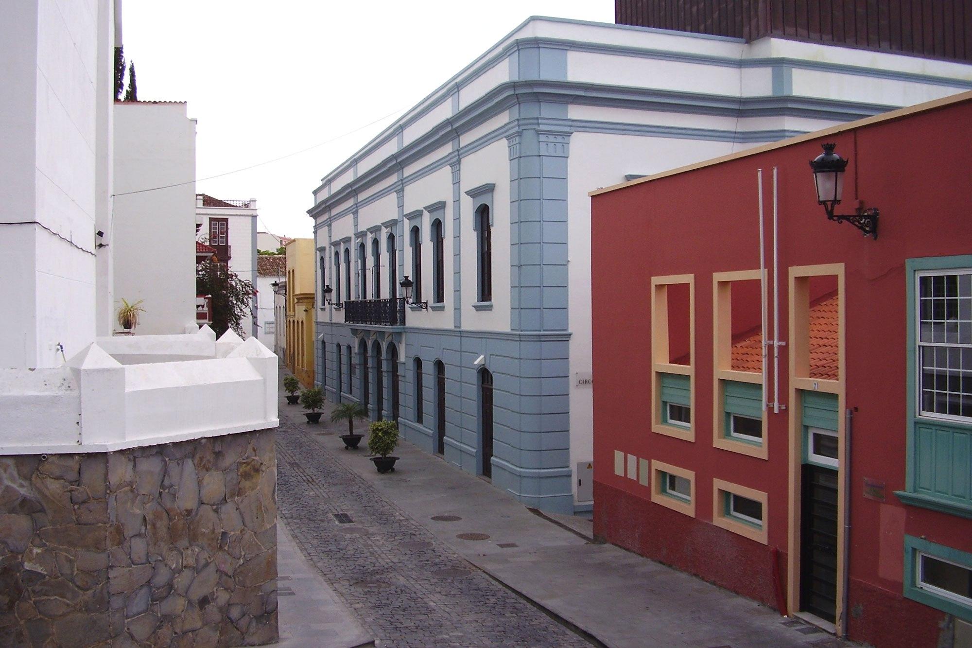 Calle Virgen de la Luz y Teatro Circo de Marte2