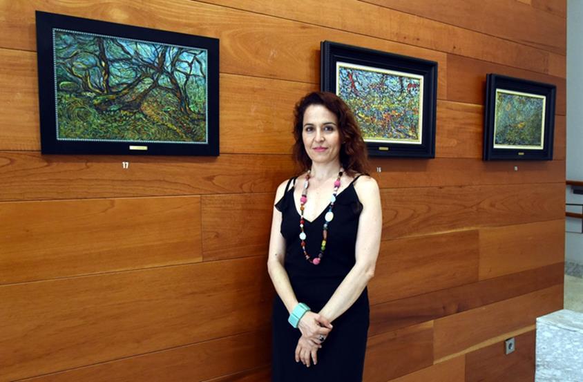 Mónica Jorge, Comisaria de la exposición, creadora y divulgadora de contenidos