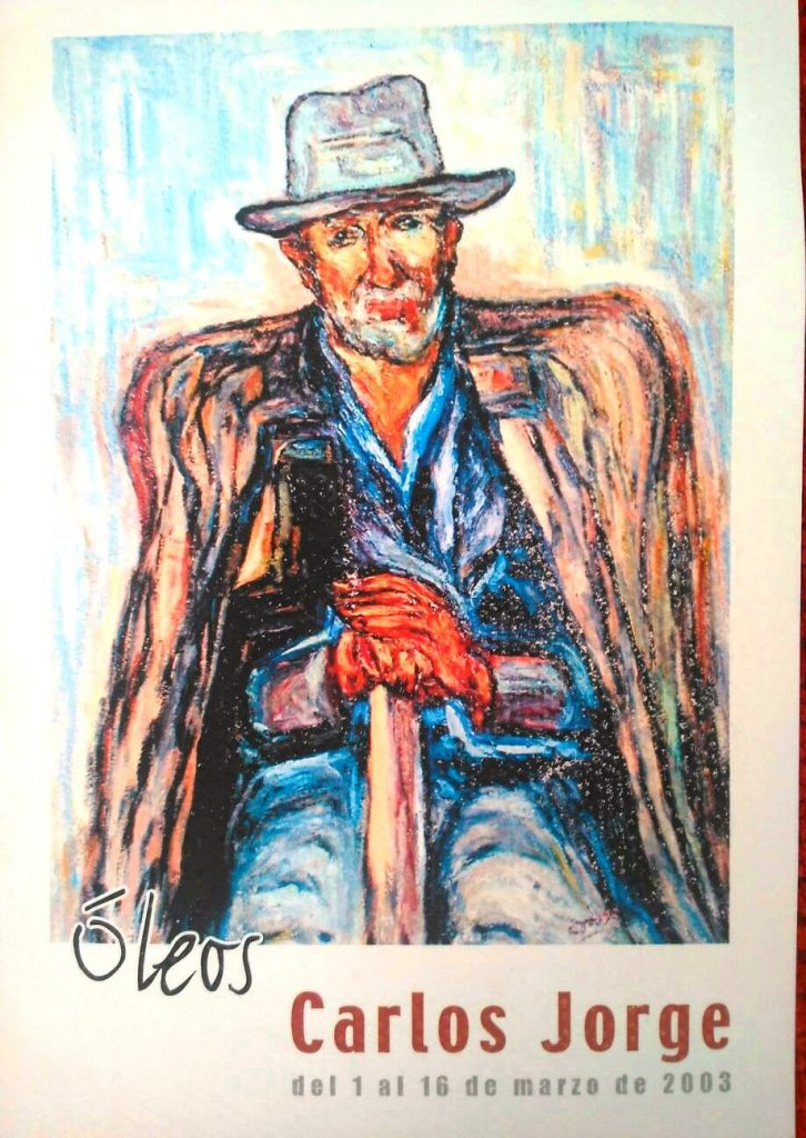 """Hombre con bastón y cigarrillo"""" (2003)"""