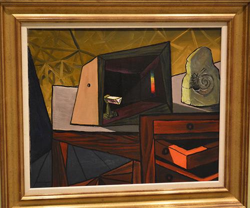 Naturaleza Muerta al prisma, Oscar-Domínguez (1943)