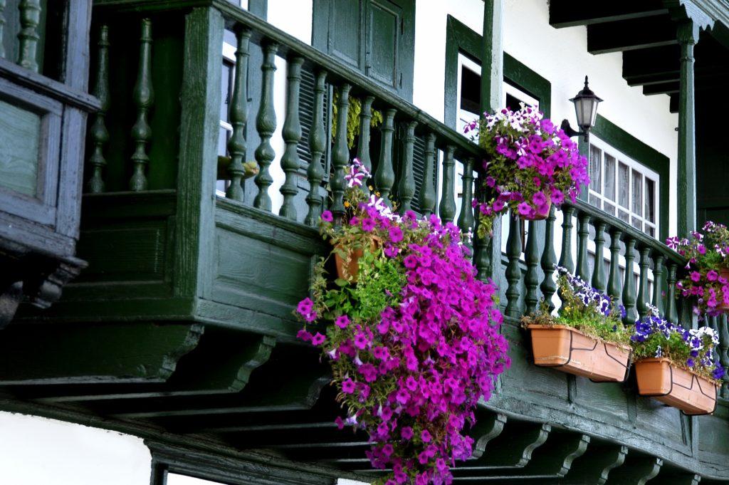 Foto: Balcones en Avenida Marítima de Santa Cruz de La Palma, Isla de La Palma