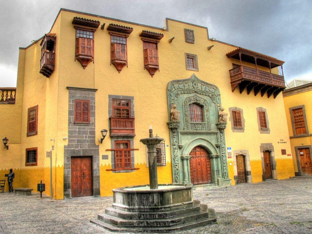 Foto: Casa Colón y Patio en Vegueta, Las Palmas de Gran Canaria.