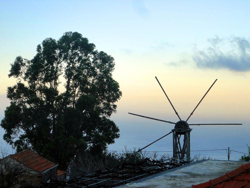 Molino de El Pinar en Puntagorda <br />Foto Javier Díaz