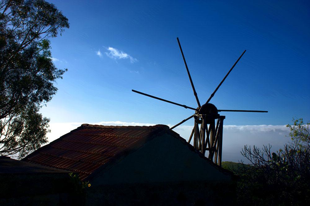 Molino en Puntagorda <br />Foto: Javier Díaz