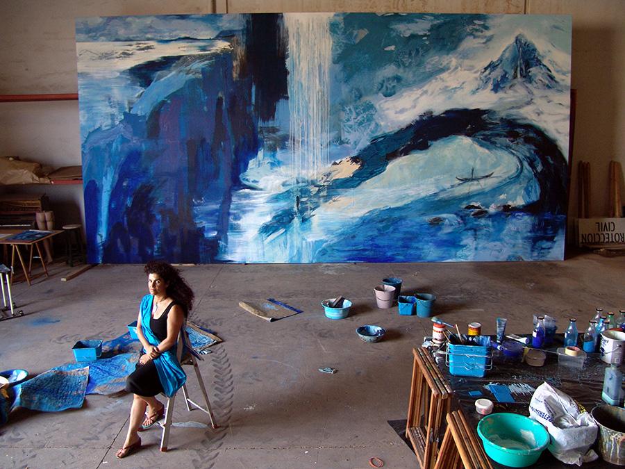 Rufina Santana -Oceánicos-Azules - Alta Farray
