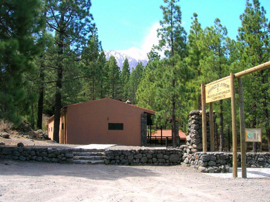 Aula en la naturaleza Barranco La Arena - Campamento