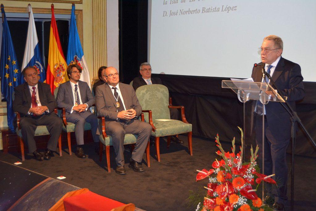 Noberto Batista Hijo Predilecto de La Palma