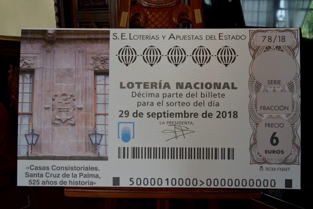 Billete Lotería Nacional