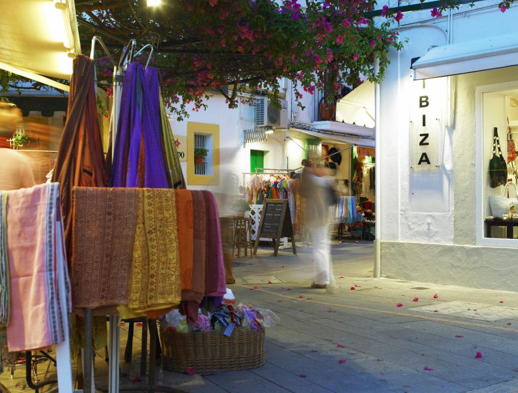 Calles puerto Ibiza