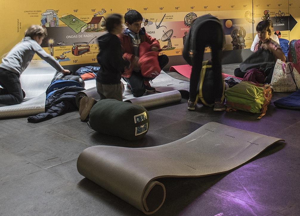 Museos acampadas