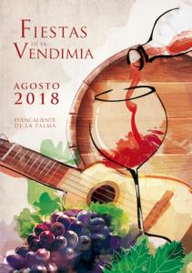 CARTEL FIESTA DE LA VENDIMIA 2018