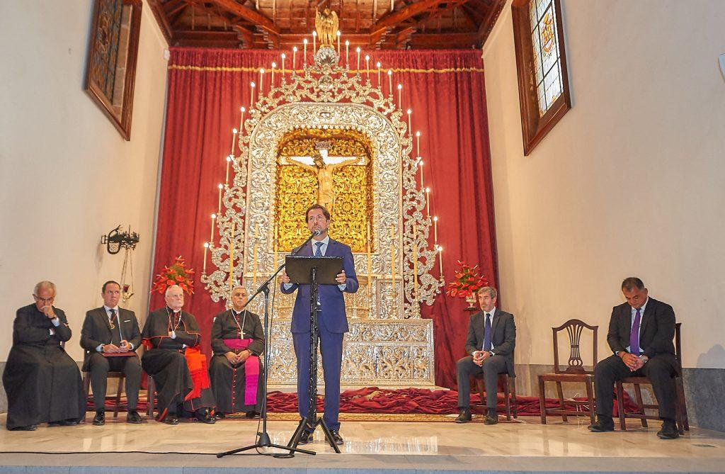 Inauguración Retablo Cristo de La Laguna