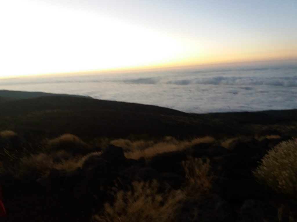Mar de nubes desde Izaña