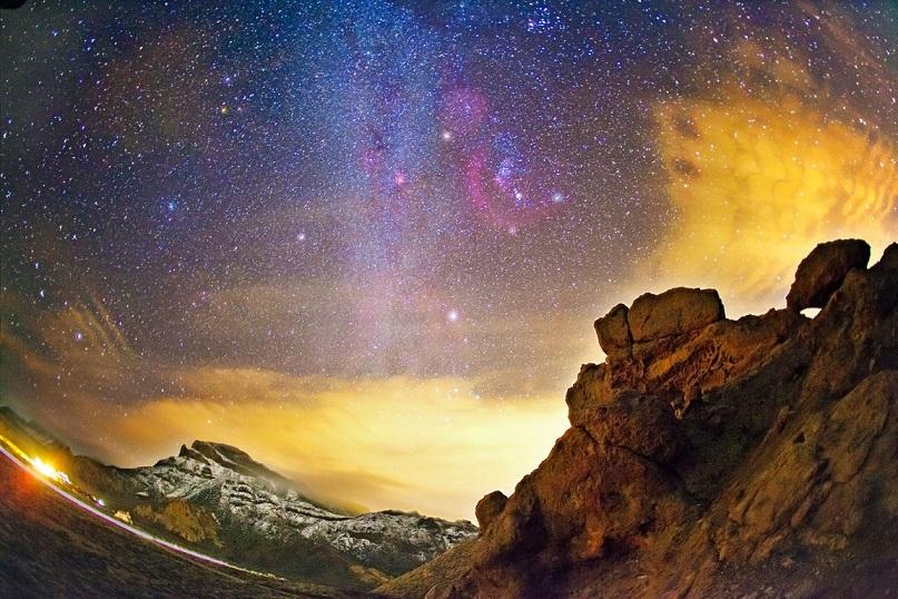 Cielo estrellado en Teide