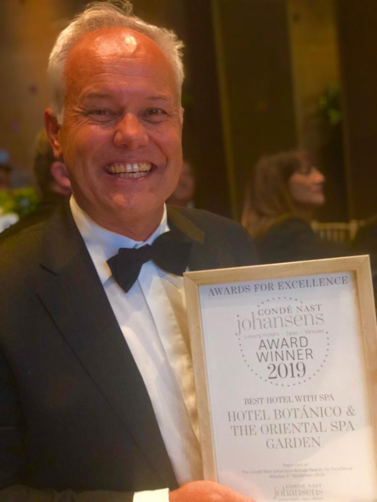El Hotel Botánico & The Oriental Spa Garden recibe el premio a mejor Hotel con Spa de Europa