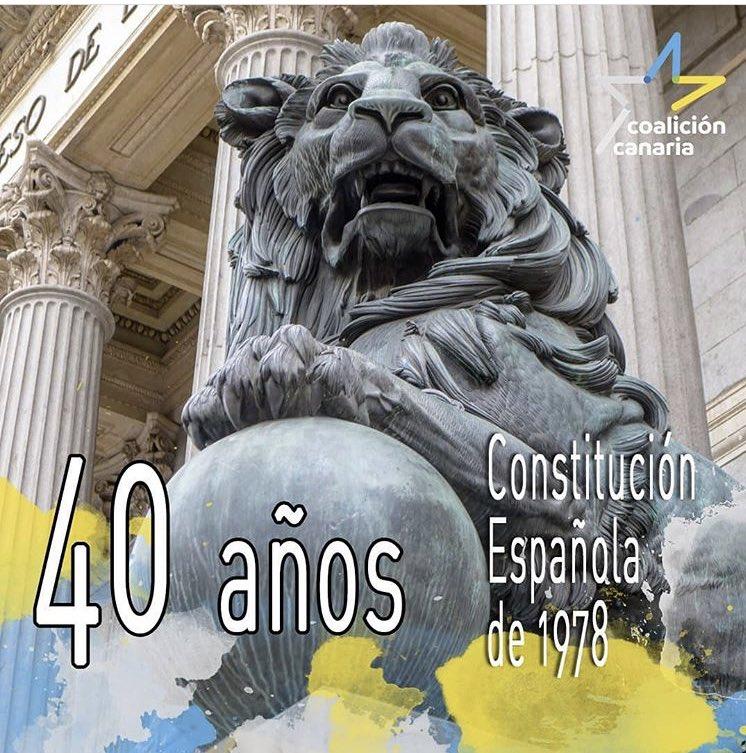 40 AÑOS CONSTITUCIÓN ESPAÑOLA