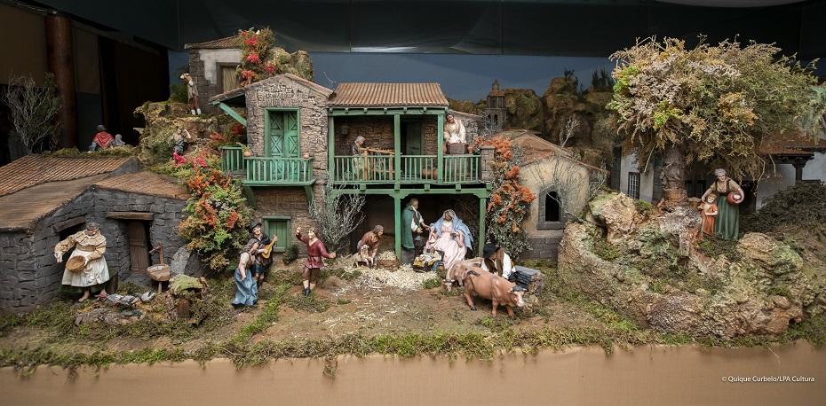 Las Palmas de Gran Canaria. Inauguración del Belén de las Casas Consistoriales. Foto Quique Curbelo