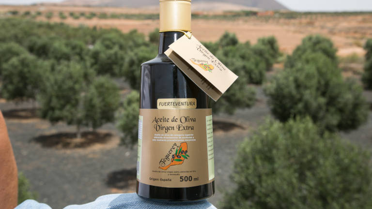 Aceite de oliva virgen extra, Teguerey