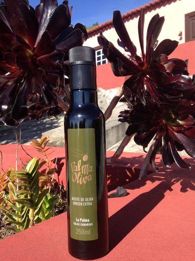El galardón 'Oliva de Oro' al mejor aceite de oliva virgen extra correspondió a uno de la zona de Los Canarios, en Fuencaliente, la marca 'Palmaoliva'.