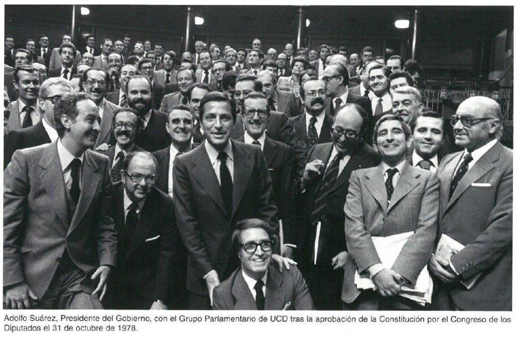 Los Padres de La Constitución Española