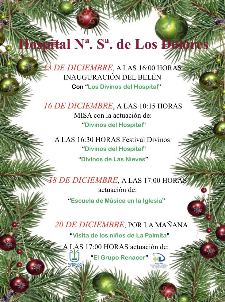 Programa Navidad Hospital de Dolores