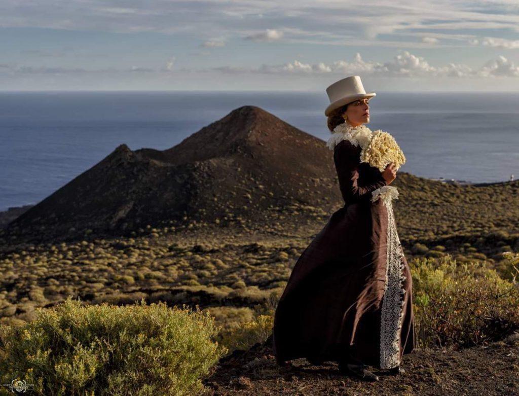 Exposición Al pasado por el futuro - La dama del volcán