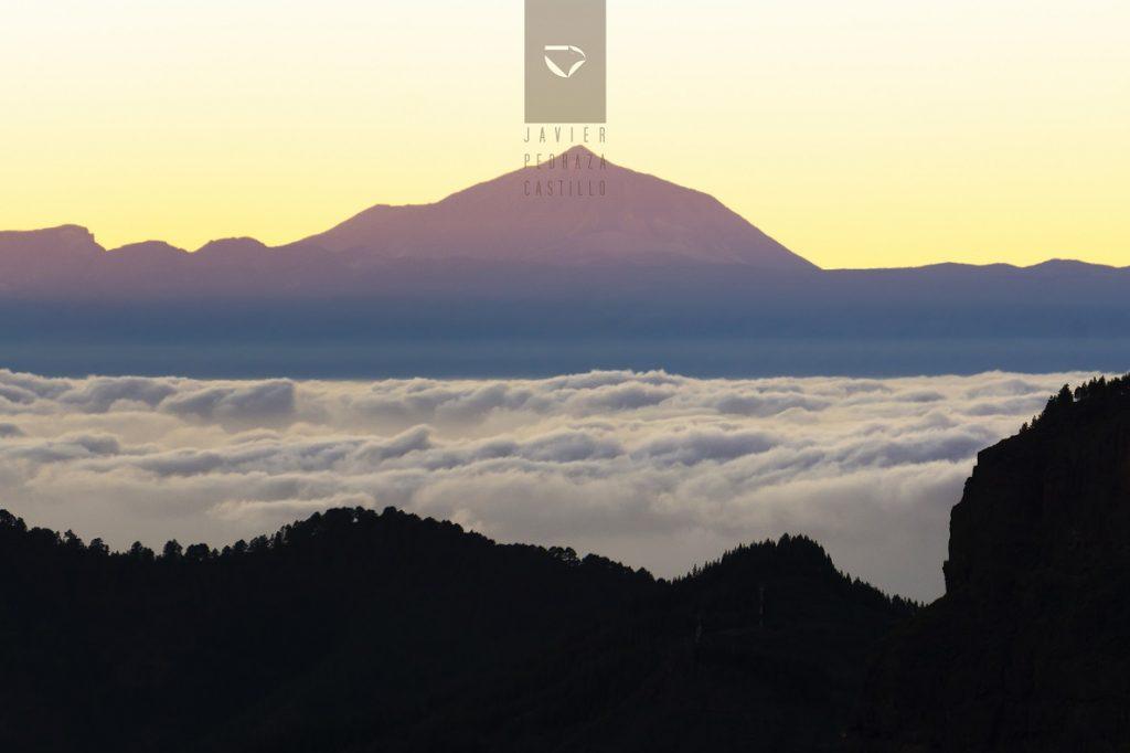El Teide entre un mar de nubes
