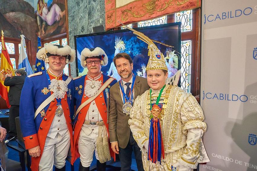 Carnaval 2019-Recepción delegación alemana