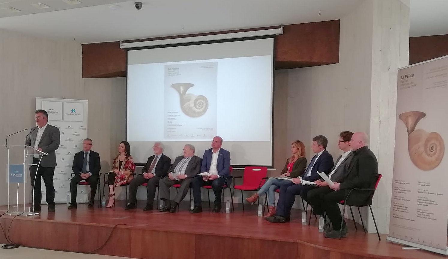 Presentación Festival Internacional de Música de La Palma
