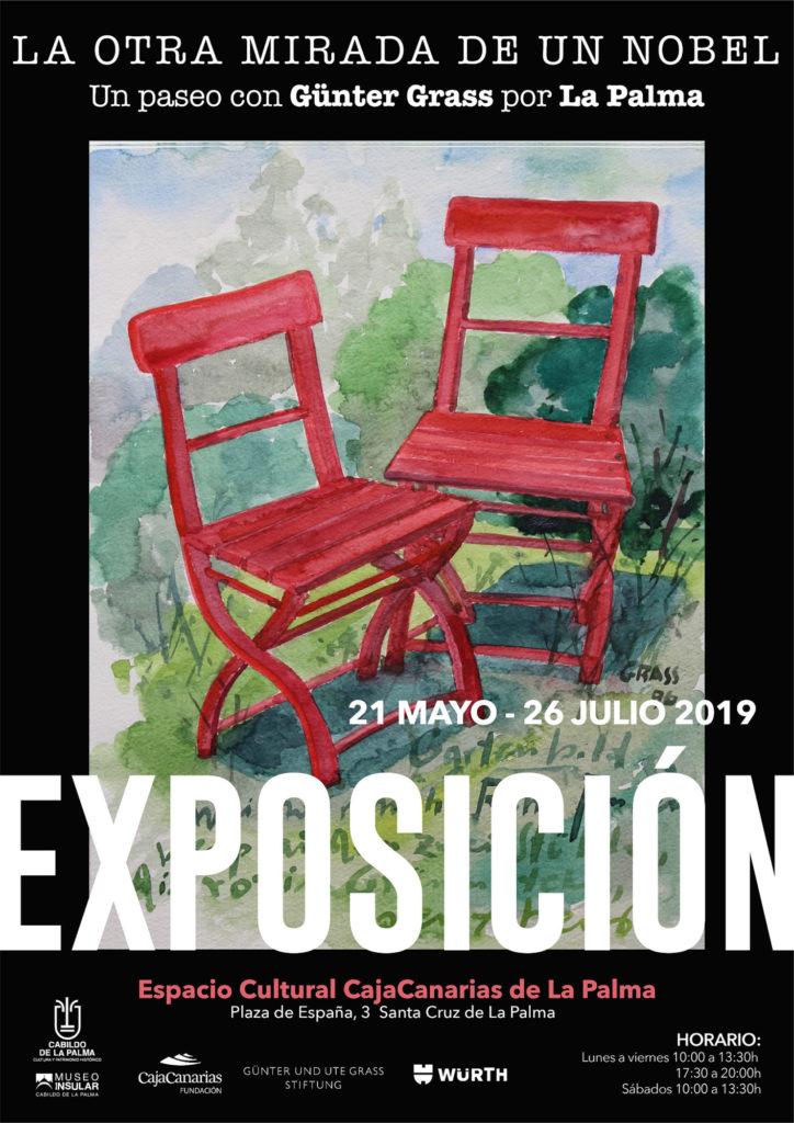 Cartel Exposición Günter Grass