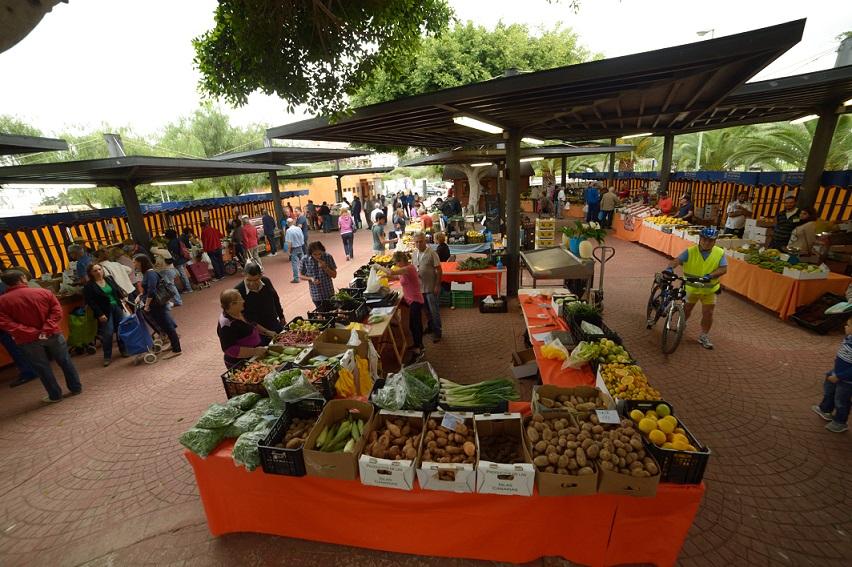 mercado agrícola de San Lorenzo