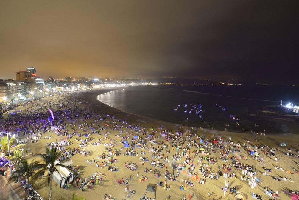 Noche de San Juan en Las Canteras