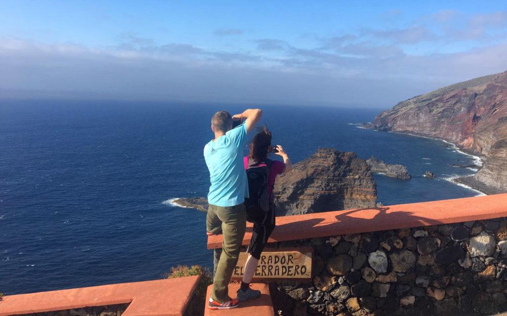 Revista alemana Outdoor Press Trip en La Palma