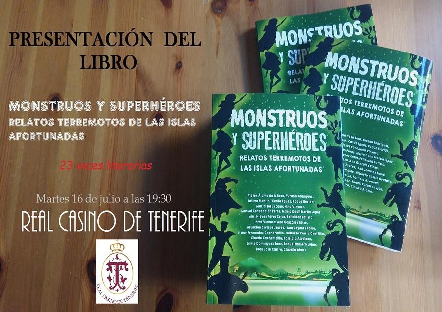 Cartel informativo Monstruos y Heroes