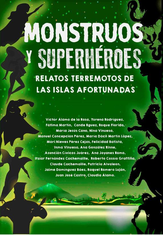 Portada MONSTRUOS Y HEROES