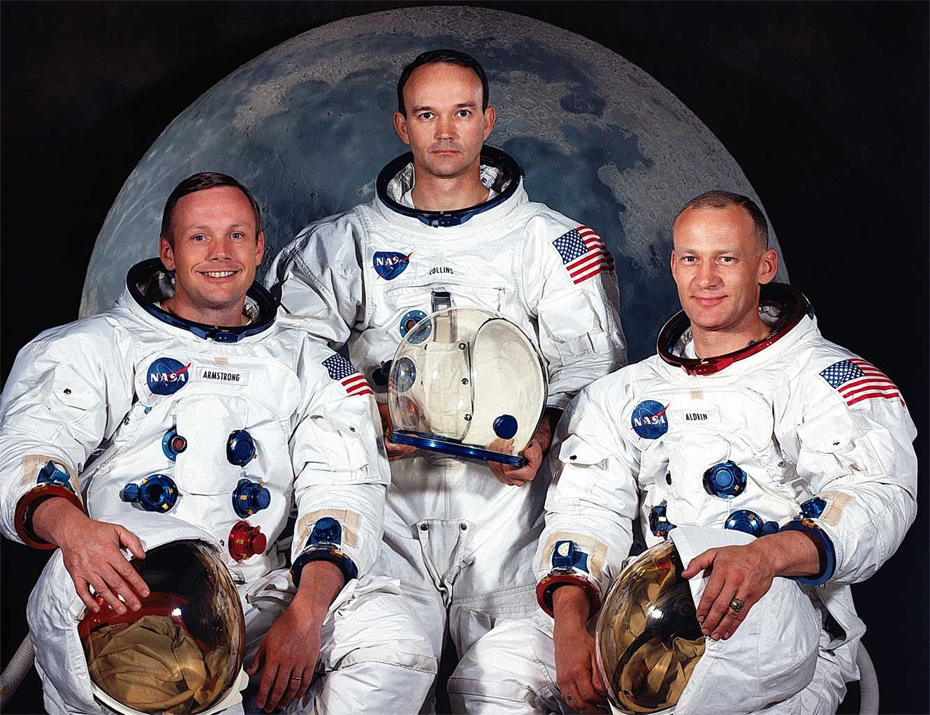 Astronautas del Apollo XI