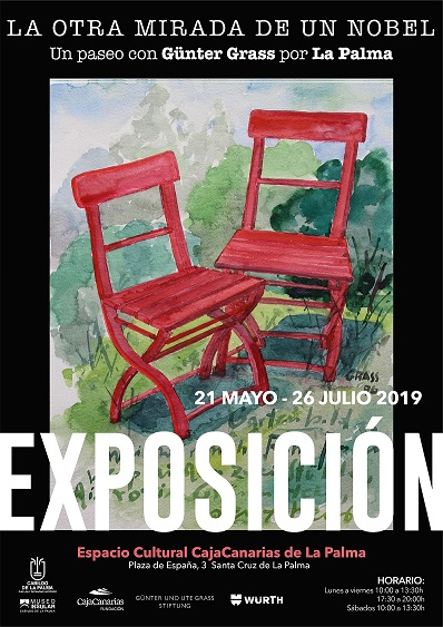 Cartel Exposición Günter Grass