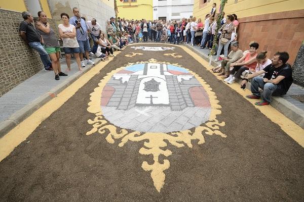 Las Palmas de Gran Canaria La - Alfombras procesión EL CARMEN en La Isleta_@Tony Hernández
