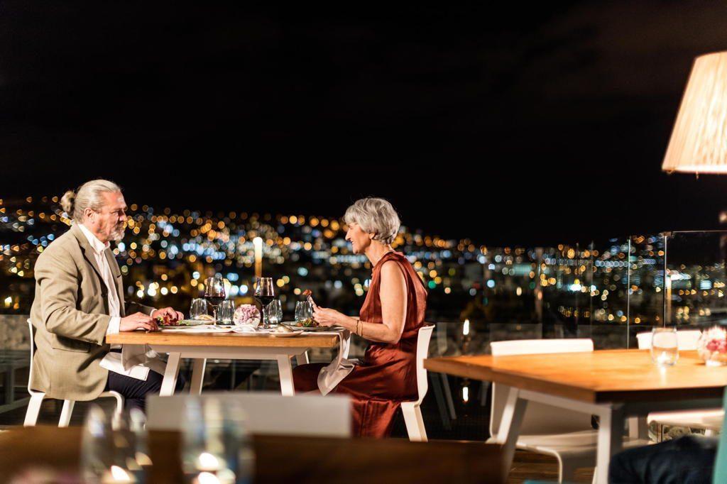 Restaurante noche