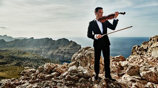© El violinista Linus Roth, embajador del sello Ibiza Luxury Destination / Foto cedida por ILD