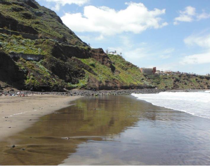 Playa del Arenal, Bajamar, Tenerife